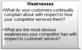 Customer-Service-SWOT-Analysis-Weaknesses-Summary