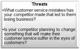 Customer-Service-SWOT-Analysis-Threats-Summary